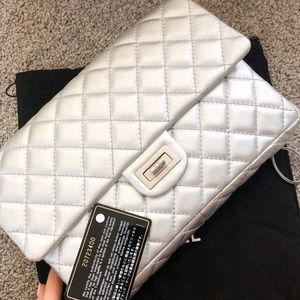 Authentic Chanel Reissue Clutch With Chain Flap